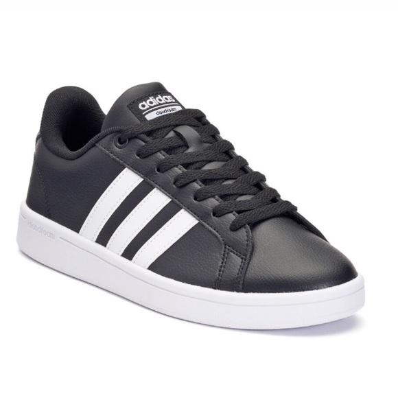adidas NEO Cloudfoam Advantage Stripe Black shoes